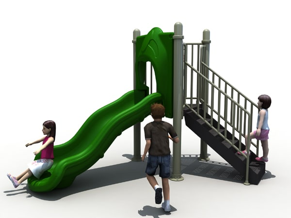 3 Stand Alone Slide Affordable Playgrounds By Trassig