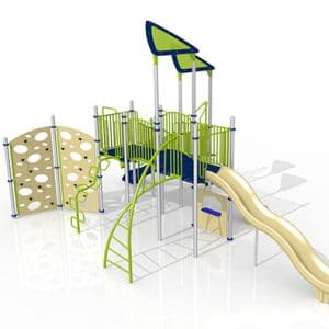 Composite Play Set GoPlay #11 Marina blue green