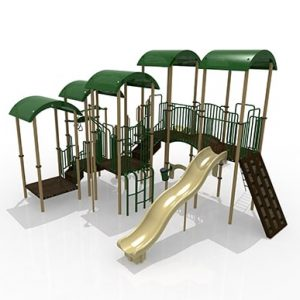 GoPlay 014 Composite Play Set (Earthtone)