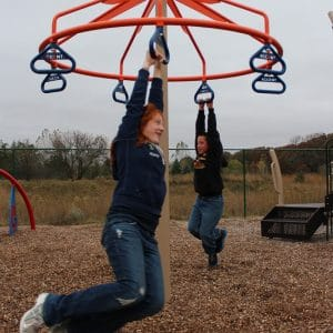 Interactive playground equipment