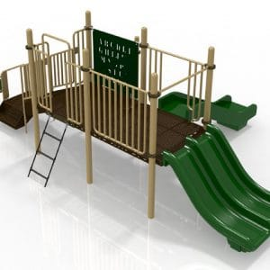 T8 Composite Playground Set