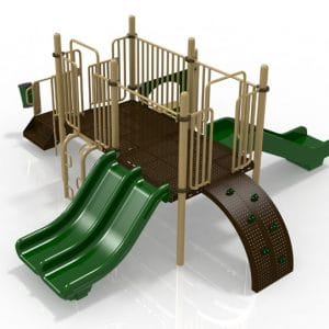 T10 Composite Playground Set