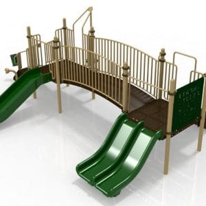 T11 Composite Playground Set