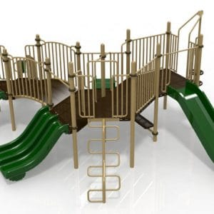 T22 Composite Playground Set