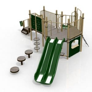 T23 Composite Playground Set
