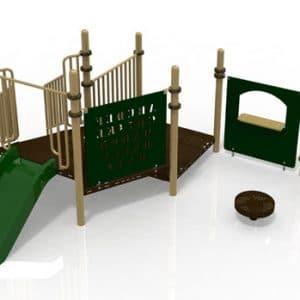 T27 Composite Playground Set