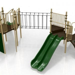 T28 Composite Playground Set