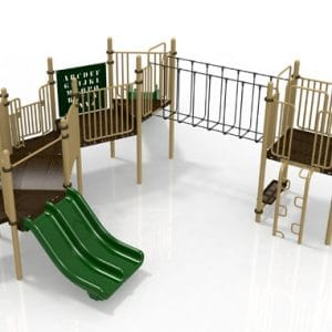 T30 Composite Playground Set