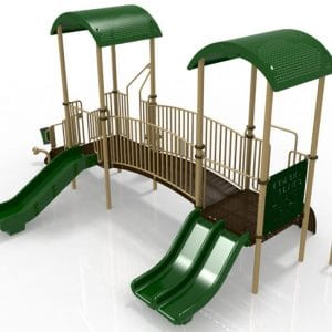 T11R Composite Playground Set