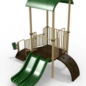 T3R Composite Playground Set