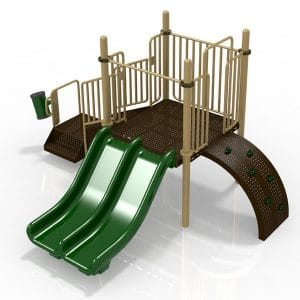 T3 Composite Playground Set