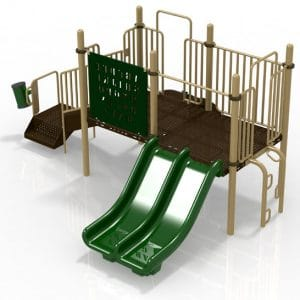 T4 Composite Playground Set