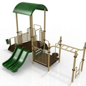 T7R Composite Playground Set