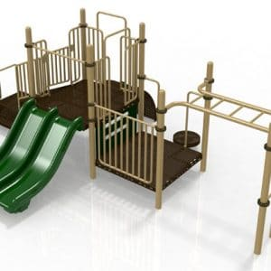 T7 Composite Playground Set