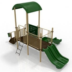 T8R Composite Playground Set