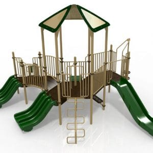 T22R Composite Playground Set