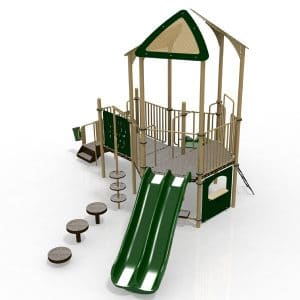 T23R Composite Playground Set