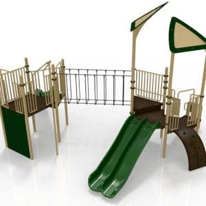 T28R Composite Playground Set