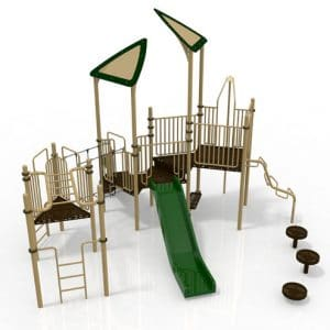 T29R Composite Playground Set