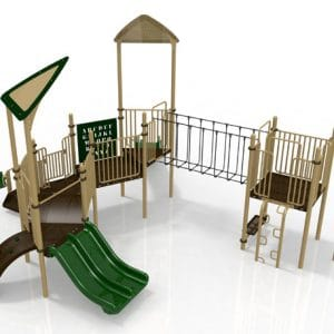 T30R Composite Playground Set