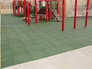 playground rubber tiles