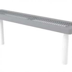 Commercial bench without back CT