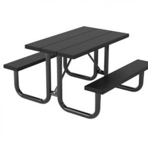 Commercial picnic table for parks