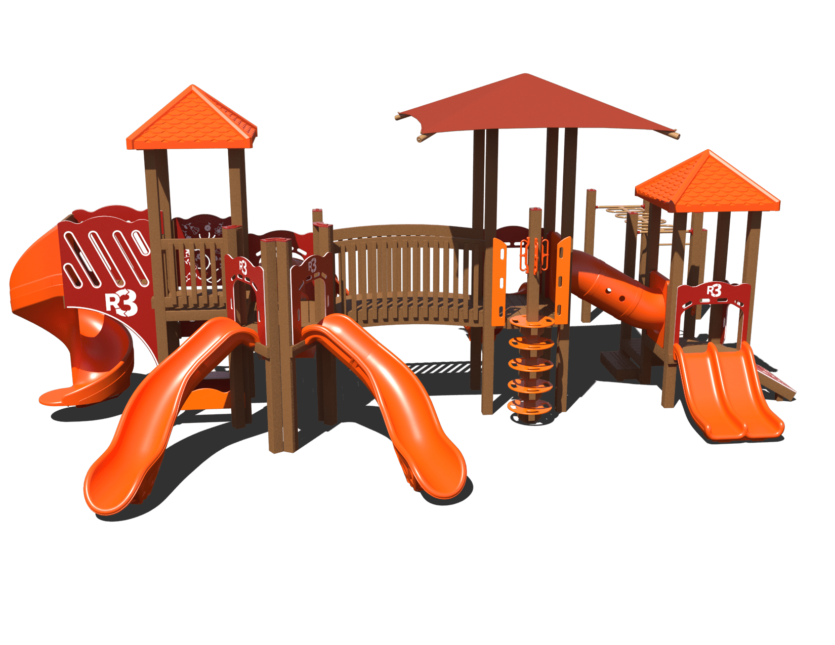 Ggr3 0009 Composite Playset Affordable Playgrounds By